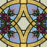 free stained glass web graphics